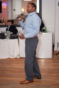 Performer, poet and spoken word Dwayne @dwayne_morgan