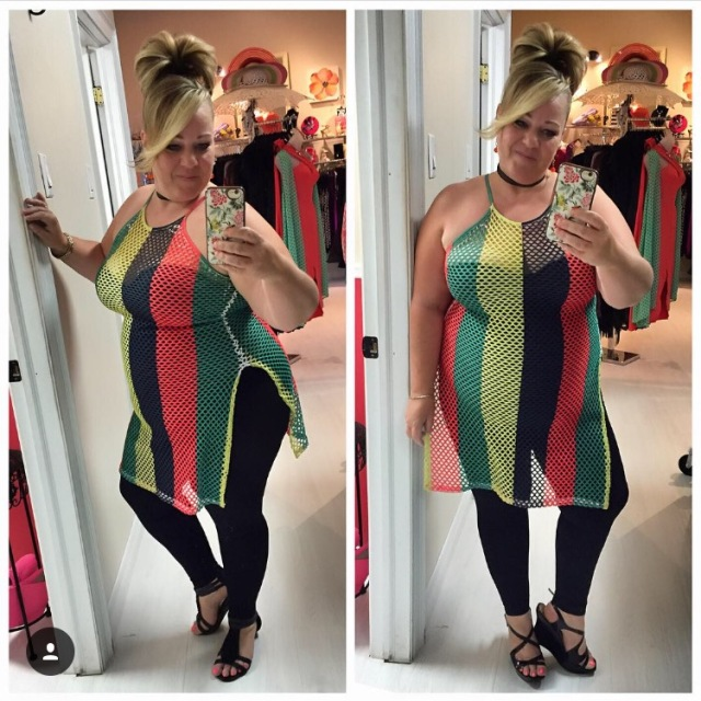 Plus Size Outfit of the Day: Rasta Vibes | SassyPlus